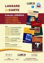 Publica cartea ta la Editura Stiintifica Lumen Afis Lansare JURIDICA 2015 60x85 3 e1552027452956