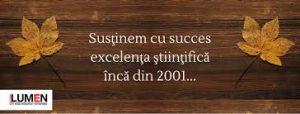 Publica cartea ta la Editura Stiintifica Lumen logo editura lumen
