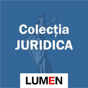 Publica cartea ta la Editura Stiintifica Lumen Colectia JURIDICA