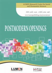Publish your work with LUMEN Cover Postmodern Openings JOURNAL