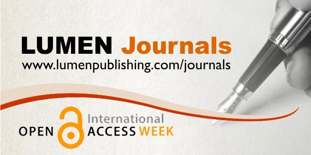 Publica cartea ta la Editura Stiintifica Lumen LUMEN Journals open access week FB Cover
